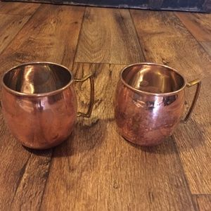 Other - Copper Mugs Set of 2 Moscow Mule